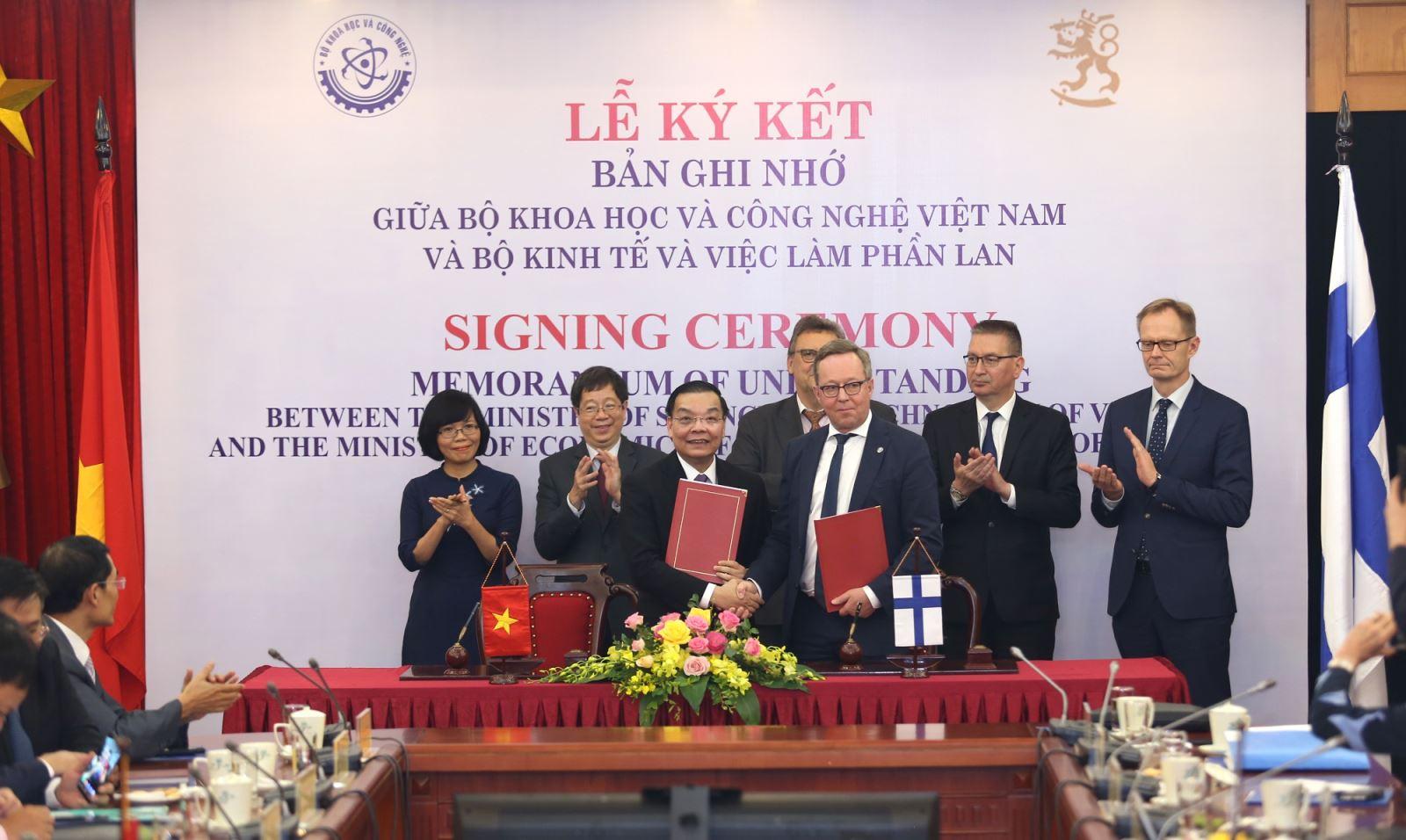 Việt Nam – Phần Lan đẩy mạnh hợp tác khoa học, công nghệ và đổi mới sáng tạo