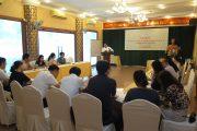 """Lớp tập huấn """" Hướng dẫn xây dựng chiến lược hợp tác quốc tế về khoa học và công nghệ""""."""